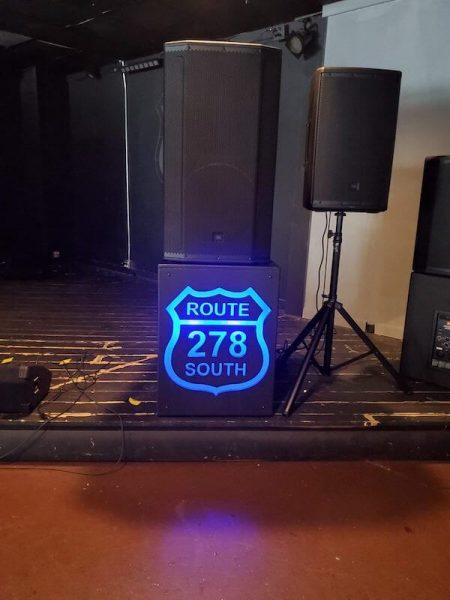 Custom speaker stand