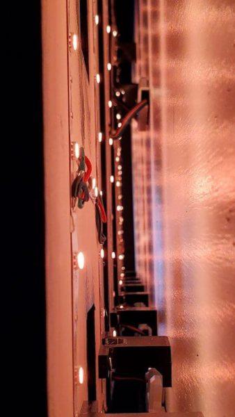 LED back lit signs